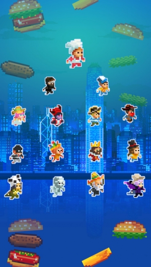 iPhone、iPadアプリ「Super Burger Time - GMode Official license」のスクリーンショット 4枚目