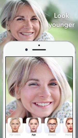 iPhone、iPadアプリ「FaceApp - AI Face Editor」のスクリーンショット 5枚目