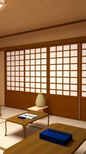 "iPhone、iPadアプリ「脱出ゲーム - 書道教室 -  ""漢字""の謎に満ちた部屋からの 脱出」のスクリーンショット 4枚目"