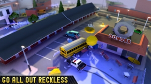 iPhone、iPadアプリ「Reckless Getaway 2」のスクリーンショット 3枚目