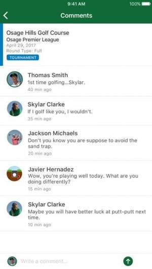 iPhone、iPadアプリ「Garmin Golf」のスクリーンショット 5枚目