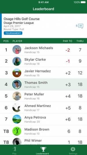 iPhone、iPadアプリ「Garmin Golf」のスクリーンショット 4枚目
