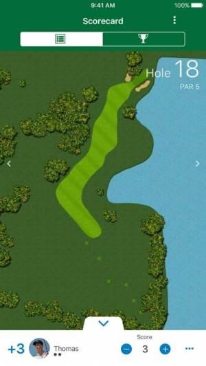 iPhone、iPadアプリ「Garmin Golf」のスクリーンショット 3枚目
