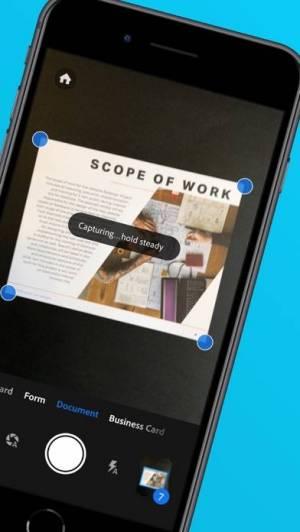 iPhone、iPadアプリ「Adobe Scan: OCR付PDFスキャンカメラ」のスクリーンショット 2枚目