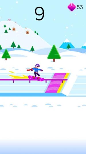 iPhone、iPadアプリ「Ketchapp Winter Sports」のスクリーンショット 5枚目