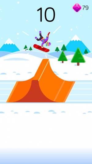 iPhone、iPadアプリ「Ketchapp Winter Sports」のスクリーンショット 2枚目