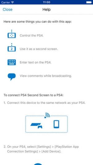 iPhone、iPadアプリ「PS4 Second Screen」のスクリーンショット 2枚目