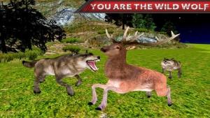 iPhone、iPadアプリ「怒っている野生の狼のジャングル攻撃」のスクリーンショット 3枚目