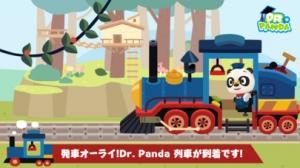 iPhone、iPadアプリ「Dr. Pandaきかんしゃ」のスクリーンショット 1枚目