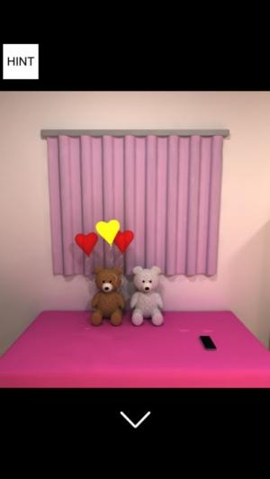 iPhone、iPadアプリ「脱出ゲーム-White Day 彼女の部屋から脱出 新作脱出ゲーム」のスクリーンショット 3枚目