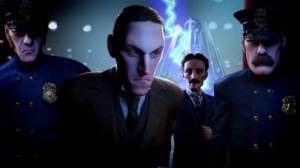 iPhone、iPadアプリ「Tesla vs Lovecraft」のスクリーンショット 1枚目