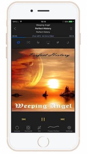 iPhone、iPadアプリ「KaiserTone Medley - ハイレゾ音楽」のスクリーンショット 2枚目