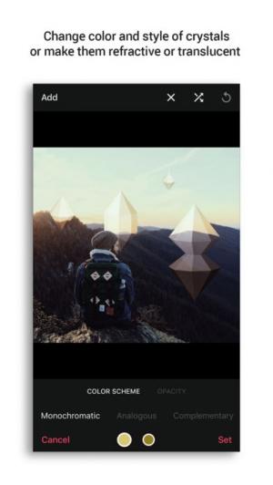 iPhone、iPadアプリ「Crystallic」のスクリーンショット 3枚目