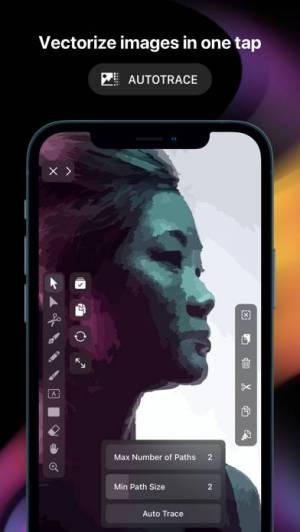 iPhone、iPadアプリ「Vectornator: Vector Design」のスクリーンショット 4枚目
