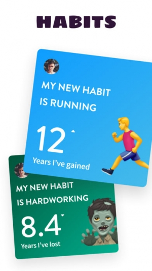 iPhone、iPadアプリ「Gero Lifespan」のスクリーンショット 3枚目