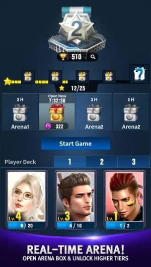 iPhone、iPadアプリ「テニススラム:グローバルデュエルアリーナ」のスクリーンショット 3枚目