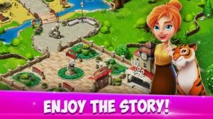 iPhone、iPadアプリ「Family Zoo: The Story」のスクリーンショット 3枚目