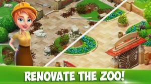 iPhone、iPadアプリ「Family Zoo: The Story」のスクリーンショット 1枚目