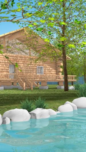 iPhone、iPadアプリ「脱出ゲーム Log House」のスクリーンショット 2枚目