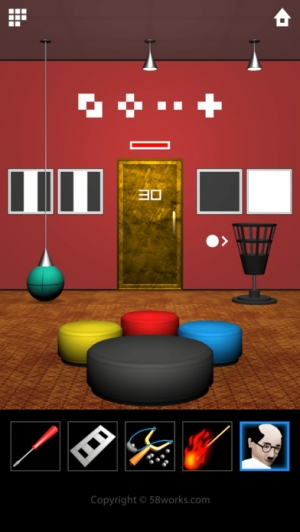 iPhone、iPadアプリ「脱出ゲーム DOOORS 5」のスクリーンショット 4枚目