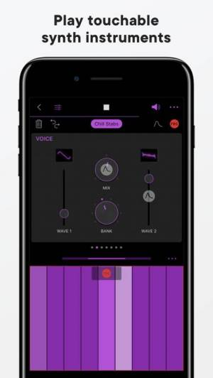 iPhone、iPadアプリ「Groovebox」のスクリーンショット 4枚目