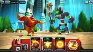 iPhone、iPadアプリ「BattleHand Heroes」のスクリーンショット 2枚目