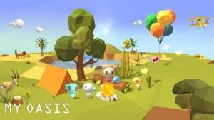 iPhone、iPadアプリ「マイオアシス - タブで成長空島」のスクリーンショット 3枚目
