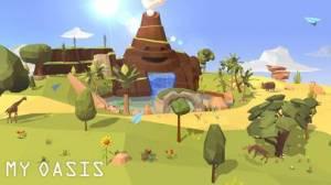 iPhone、iPadアプリ「マイオアシス - タブで成長空島」のスクリーンショット 5枚目