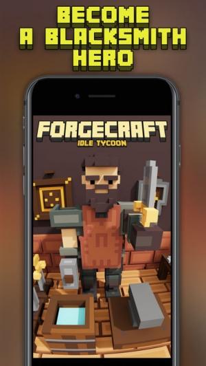 iPhone、iPadアプリ「ForgeCraft - Idle Tycoon」のスクリーンショット 5枚目