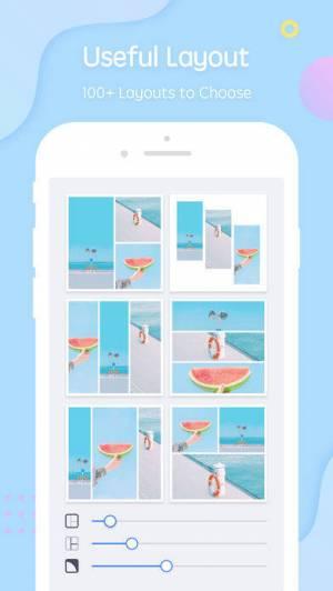 iPhone、iPadアプリ「Pins-Artistic Effects Camera」のスクリーンショット 2枚目