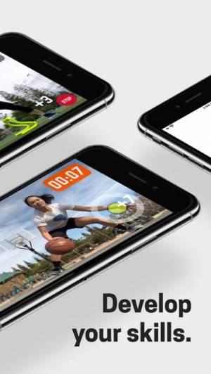 iPhone、iPadアプリ「HomeCourt: Sports at Home」のスクリーンショット 2枚目