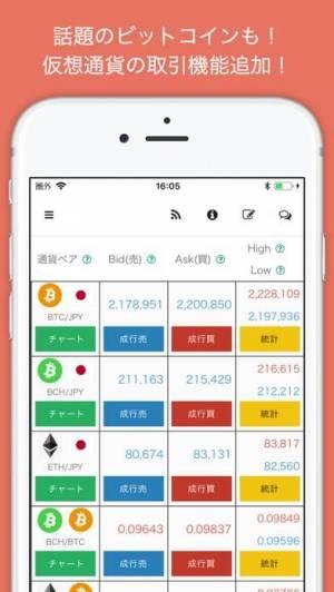 iPhone、iPadアプリ「FXバーチャルトレード ゲーム感覚で投資を体験 iトレFX」のスクリーンショット 1枚目