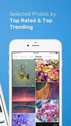 iPhone、iPadアプリ「PhotoX Pro Top Live Wallpapers」のスクリーンショット 3枚目