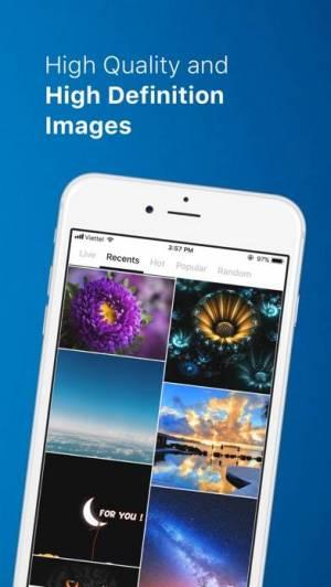 iPhone、iPadアプリ「PhotoX Pro Top Live Wallpapers」のスクリーンショット 4枚目