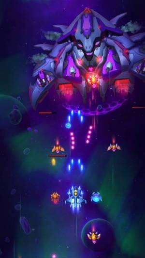 iPhone、iPadアプリ「Space Justice:ギャラクシーシューティングゲーム」のスクリーンショット 4枚目