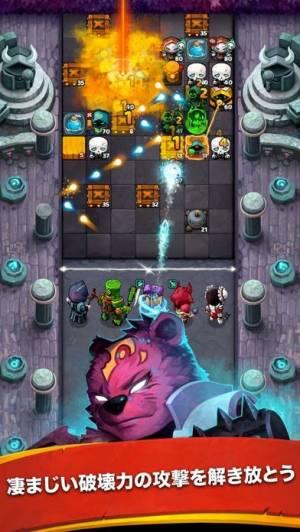 iPhone、iPadアプリ「Battle Bouncers - ヒーローと魔法使いたち」のスクリーンショット 3枚目