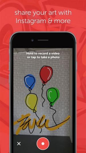 iPhone、iPadアプリ「SuperPaint - Virtual Graffiti」のスクリーンショット 2枚目