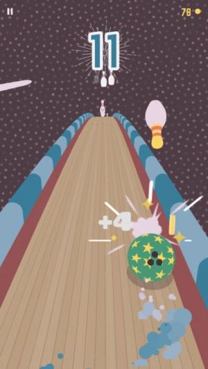 iPhone、iPadアプリ「Kingpin Bowling」のスクリーンショット 3枚目