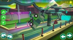 iPhone、iPadアプリ「Gravity Rider オフロード系オートバイレース」のスクリーンショット 1枚目