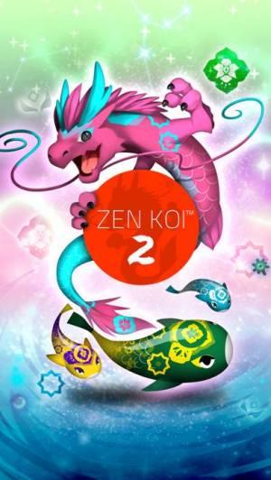 iPhone、iPadアプリ「禅の鯉 2 - Zen Koi 2」のスクリーンショット 1枚目