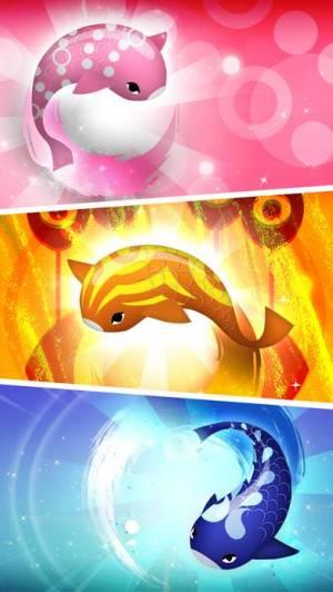 iPhone、iPadアプリ「禅の鯉 2 - Zen Koi 2」のスクリーンショット 5枚目