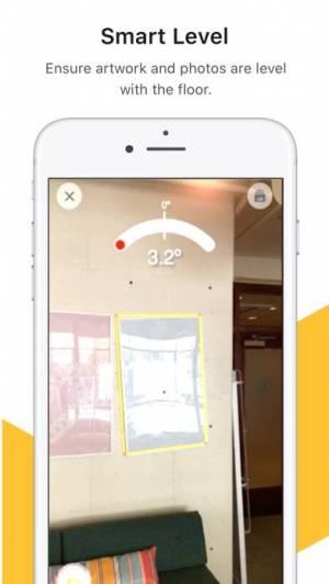 iPhone、iPadアプリ「TapMeasure – AR utility」のスクリーンショット 3枚目