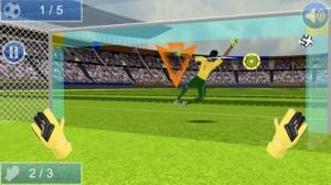 iPhone、iPadアプリ「Real Soccer GoalKeeper League」のスクリーンショット 1枚目