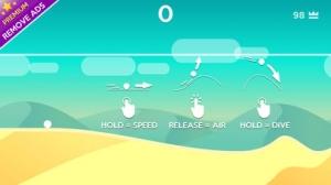 iPhone、iPadアプリ「Dune!」のスクリーンショット 1枚目