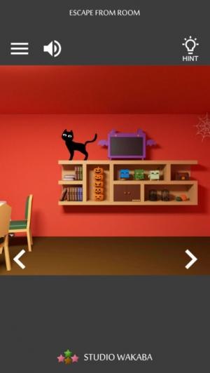 iPhone、iPadアプリ「脱出ゲーム ジャックの部屋」のスクリーンショット 1枚目