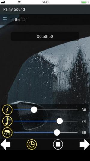 iPhone、iPadアプリ「雨音 ~快適な睡眠のために~」のスクリーンショット 4枚目