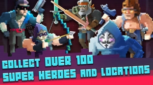 iPhone、iPadアプリ「Super Hero Fight Club」のスクリーンショット 3枚目