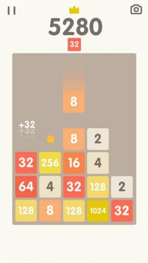 iPhone、iPadアプリ「2048 Bricks」のスクリーンショット 3枚目