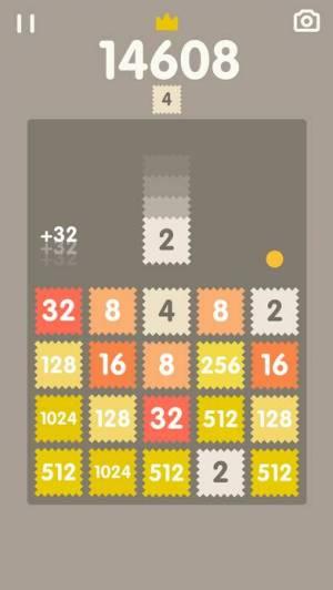 iPhone、iPadアプリ「2048 Bricks」のスクリーンショット 5枚目