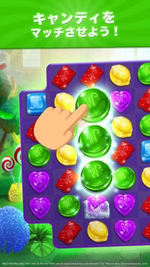 iPhone、iPadアプリ「Wonkaキャンディワールド」のスクリーンショット 2枚目